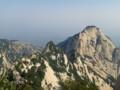 [西安] 华山 いかにも中国の山と言う感じ