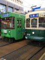 [長崎] 市電が走ってます 新旧タイプがあるのは大連と同じ
