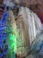 [桂林] 银子岩 鍾乳洞ですが、ライトアップされているのが中国的