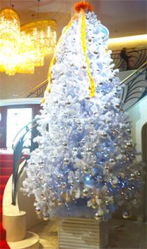 東京宝塚劇場のクリスマスツリー