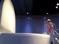 「トイレとうんち展@日本科学未来館」 うんちのすべり台
