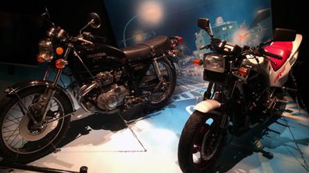 『わたしのマーガレット展』「ホットロード」バイク