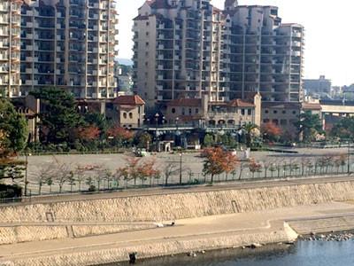 ホテル若水からの景色