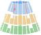福岡市民会館 座席表