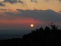 猿投山からの日没