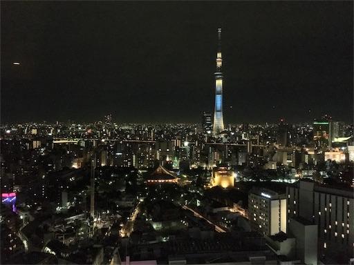 スカイグリルブッフェ武藏、東京スカイツリーが目の前です
