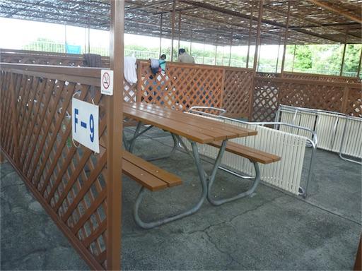 豊島園プールの有料席、ファミリーシート