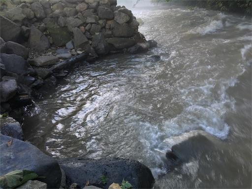 からまつの湯、湯船に川が流入3!!