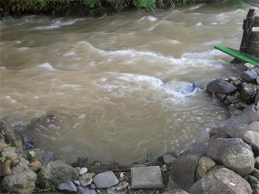 からまつの湯、湯船に川が流入4!!