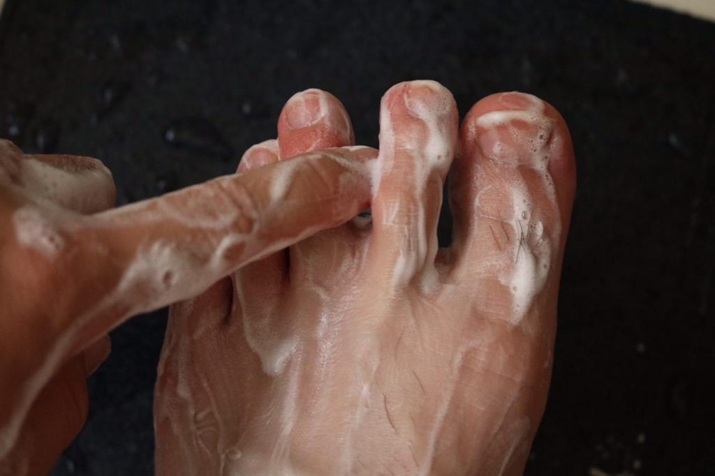 ブテナロック足洗いソープ効果