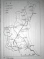 [日本の古代道路を探す]p.202 図59 常陸国の駅路網