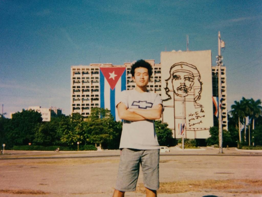 キューバ市内で撮影した写真