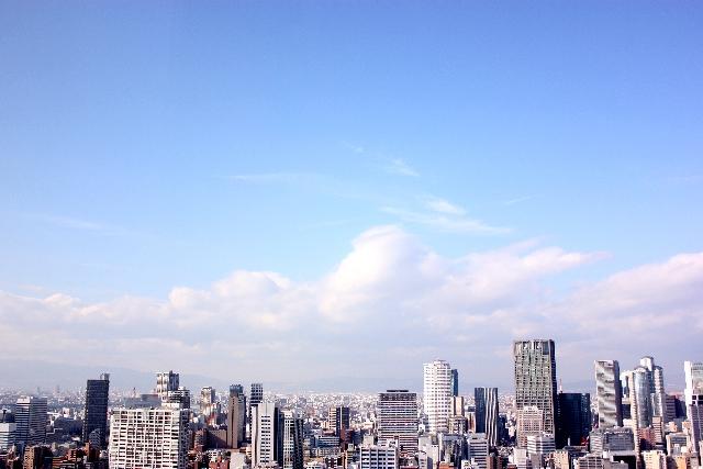 東京の空の写真