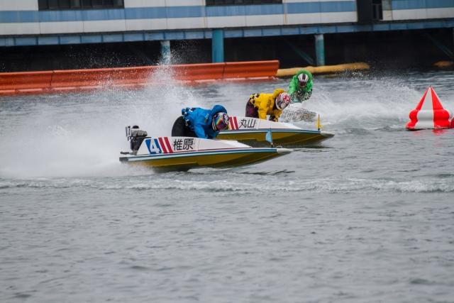 競艇の写真