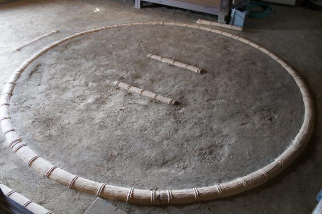 相撲の土俵の写真