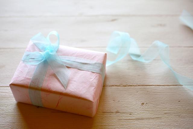 プレゼントボックスの写真