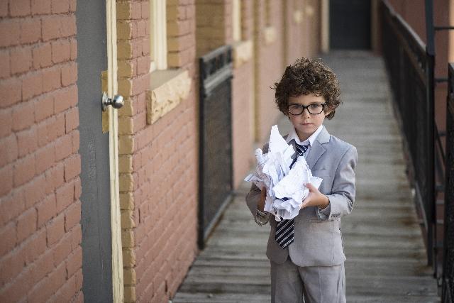 スーツを着た子供の写真