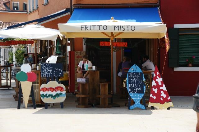 イタリアにあるレストランの外観写真