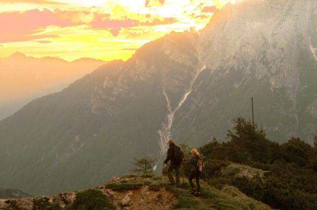 山の絶景写真