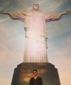 the sunrise at Cristo Redentor 9-20-2015