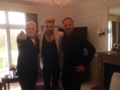 with Brian and Roger at the Mandarin Oriental Hyde Park in London 4-15-2016