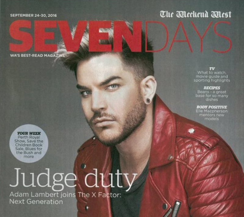 """Cover Photo """"SEVEN DAYS"""" Weekend West Magazine:""""Judge duty"""""""