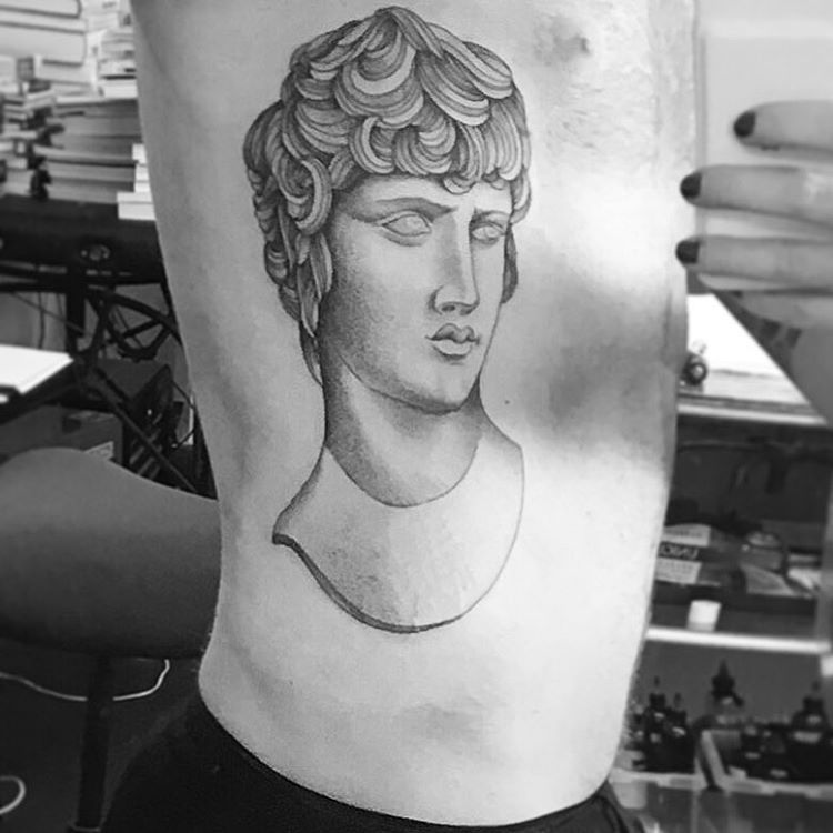 Adam's body with New tattoo! 10-3-2016