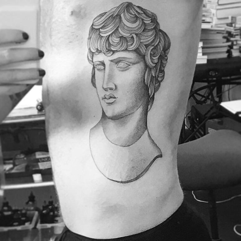 Adam's body with New tattoo! 10-3-2016