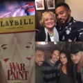 via browncharl 's IG : Tony Nominations Day w/bud @adamlambert 05-02-2017