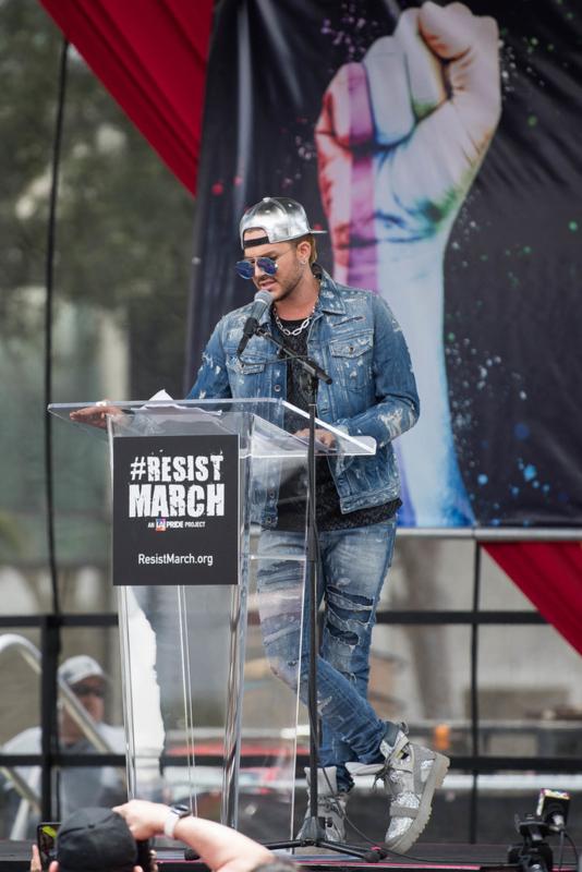 "LA! PRIDE Project"" Resist March"" 06-11-2017"