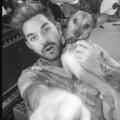 Adam IG; Adam in a Studio with Pharaoh 08-27-2017