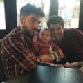 Eber Lambert's IG : Lambert boys hitting happy hour 12-18-2017