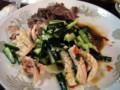 [中華料理]居酒屋猿八の前菜盛り合わせ(たべかけ…)