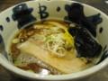 [ラーメン]福たけセブン@ラーメン劇場の煮干しラーメン