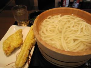 丸亀製麺@本八幡の釜揚げうどん