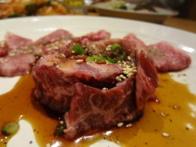 本八幡の「焼肉 栄」の肉 その2