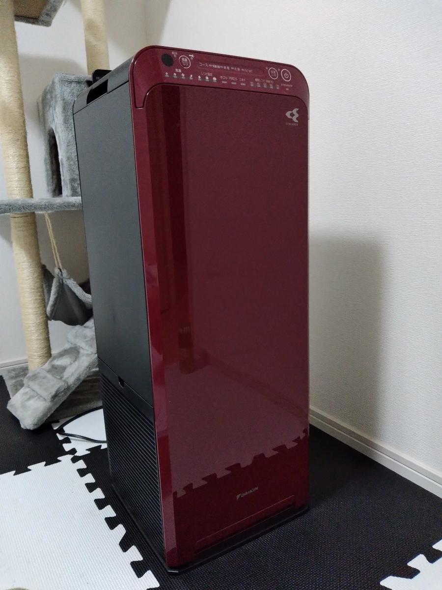 フィルター交換対象の空気清浄機