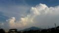 いかにも夏!って感じの雲。