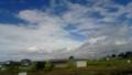 風強そうだな…って感じの雲。