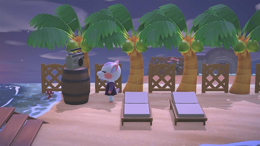 プライベート ビーチ あつ 森