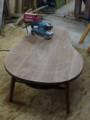 最後に表面の研磨と木口の調整