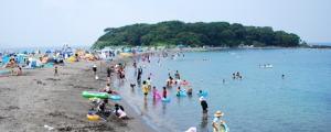館山 沖ノ島海水浴場