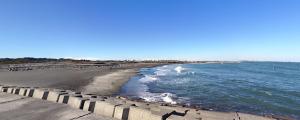 九十九里浜 東浪見海水浴場
