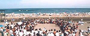九十九里浜 一松海水浴場