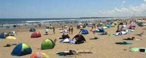 九十九里浜 本須賀海水浴場