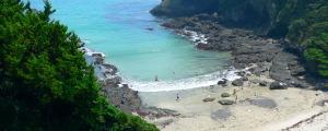 伊豆下田・碁石が浜海水浴場