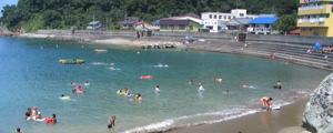 西伊豆・安良里海水浴場