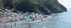 西伊豆・田子瀬浜海水浴場
