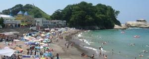 西伊豆・乗浜海水浴場