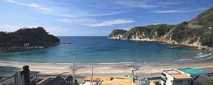 西伊豆・岩地海水浴場